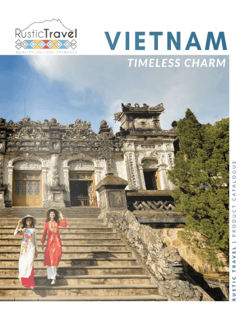Rustic Travel Vietnam Brochure